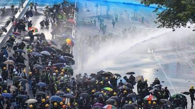رغم الحظر.. آلاف المحتجين يتظاهرون وسط هونغ كونغ
