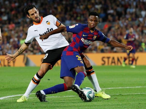 برشلونة يعلن عن إصابة نجمه الشاب