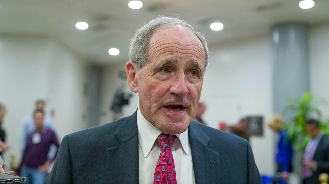 Senate Foreign Relations Committee Chairman Jim Risch, R-Idaho, speaks with the media. (File photo: AP)