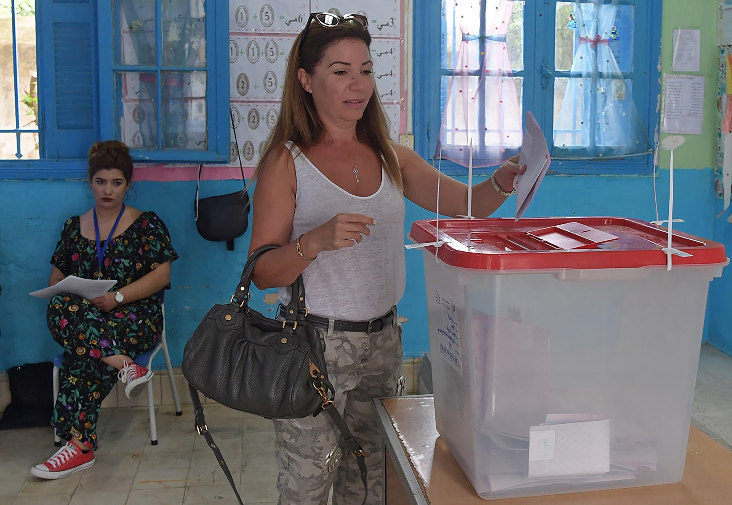 انتخابت تونس الرئاسية(15 سبتمبر- فرانس برس)