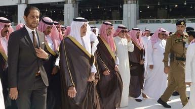 نيابة عن الملك.. خالد الفيصل يتشرف بغسل الكعبة المشرفة