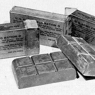 بشوكولاتة كالبطاطس.. انتصرت أميركا في الحرب العالمية