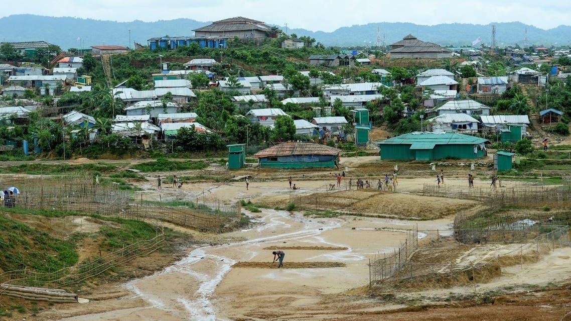 مخيم للروهينغا في بنغلادش (أرشيفية)