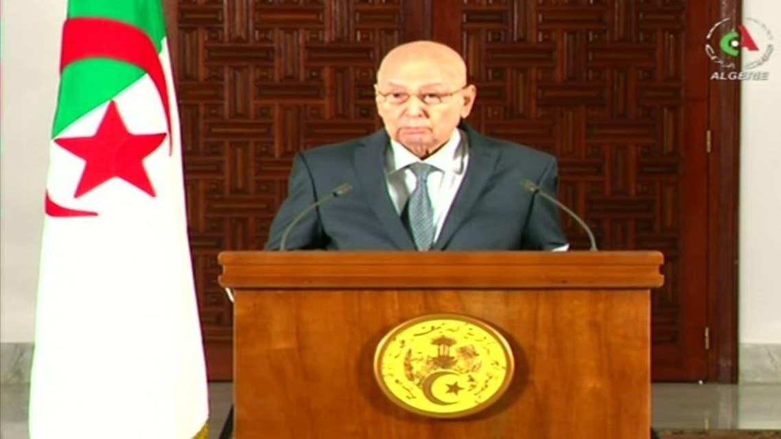 عبدالقادر صالح الرئيس الجزائري المؤقت