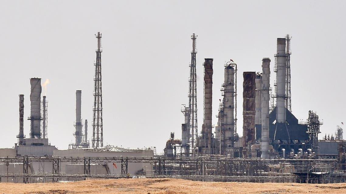 an Aramco oil facility near al-Khurj area, just south of the Saudi capital Riyadh. (File photo: AFP)