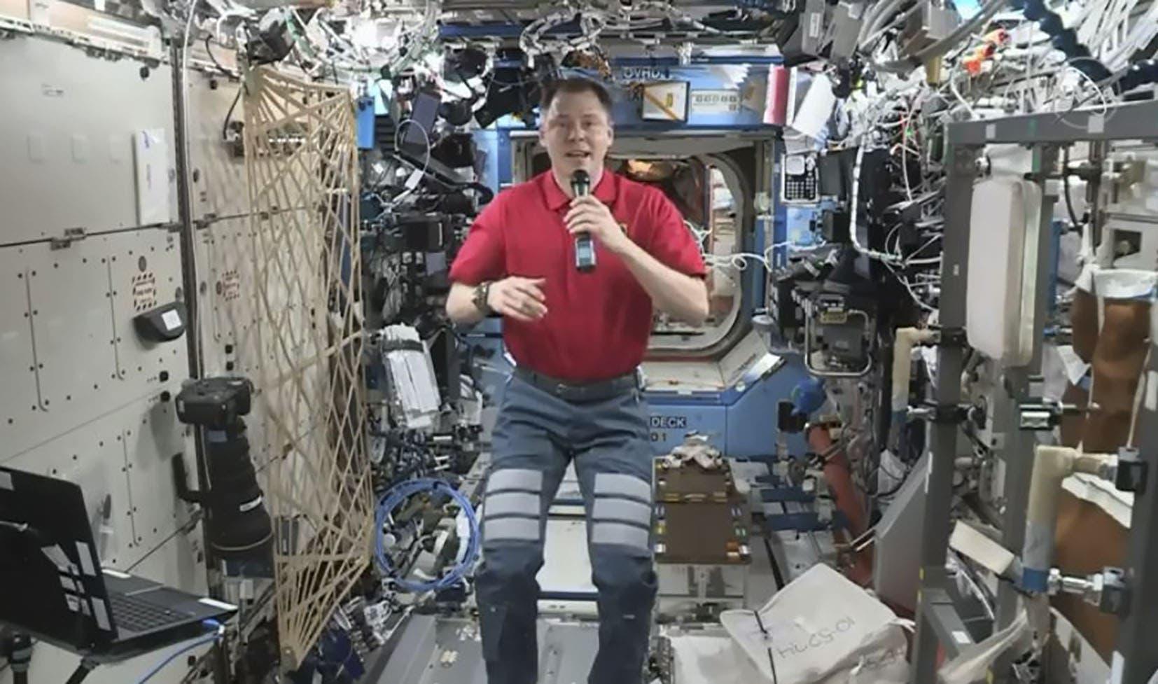رائد الفضاء نيك هايغ