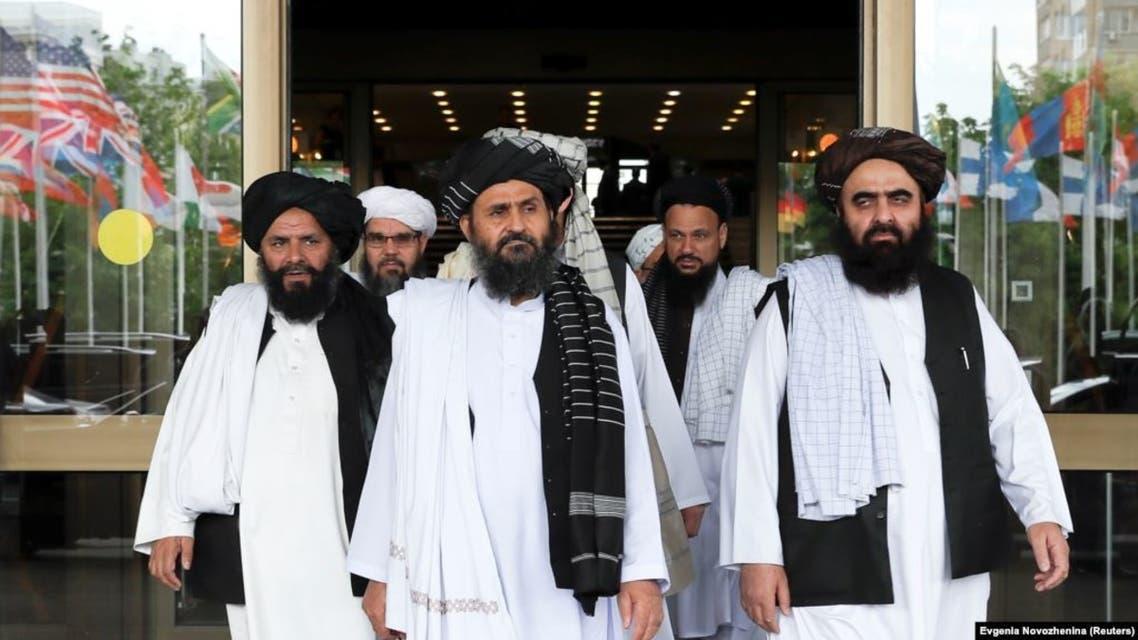 وفد طالبان في موسكو