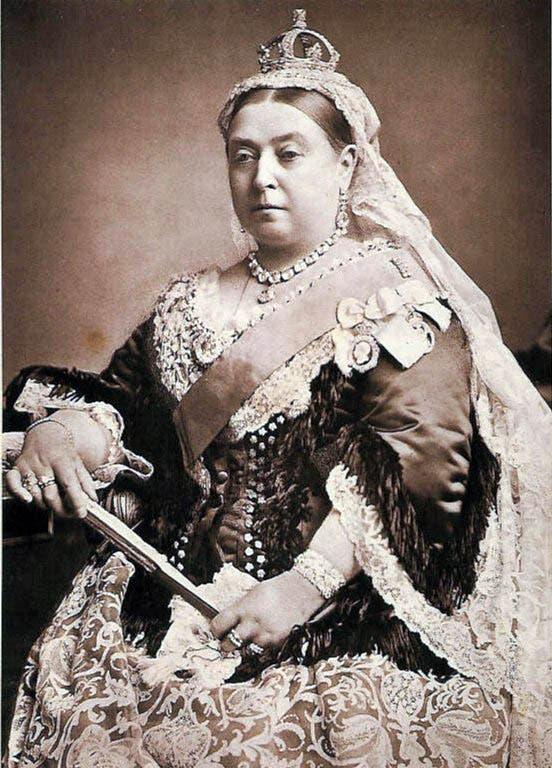 صورة للملكة فيكتوريا