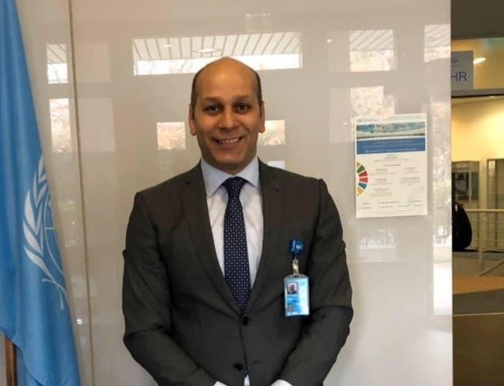 مدير المنتدى العربي الأوروبي لحقوق الإنسان أيمن نصري