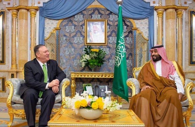 saudi crown prince pompeo