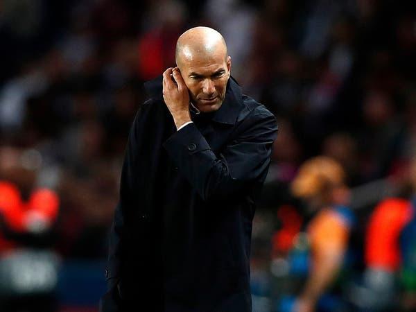 زيدان يكشف سبب سقوط ريال مدريد أمام سان جيرمان