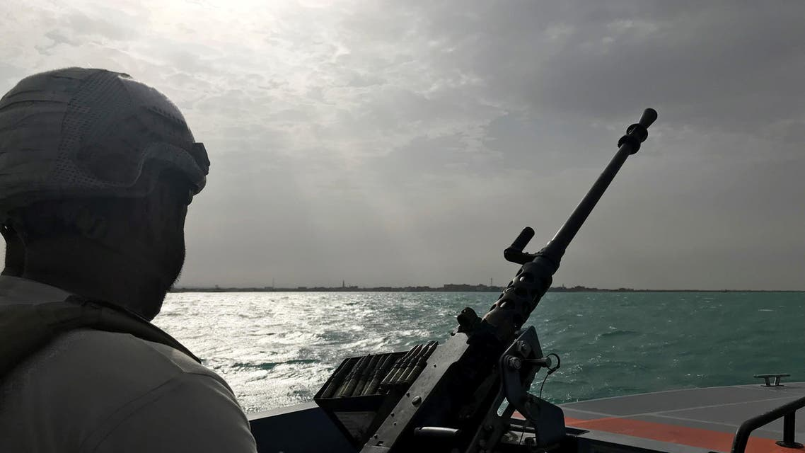 UAE military patrol navy Gulf - Reuters