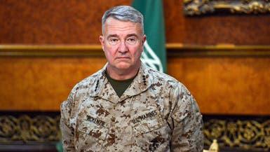 الجنرال ماكينزي قائد القيادة المركزية الأميركية