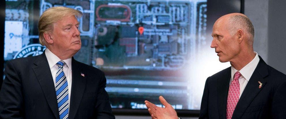 السيناتور سكوت والرئيس ترمب