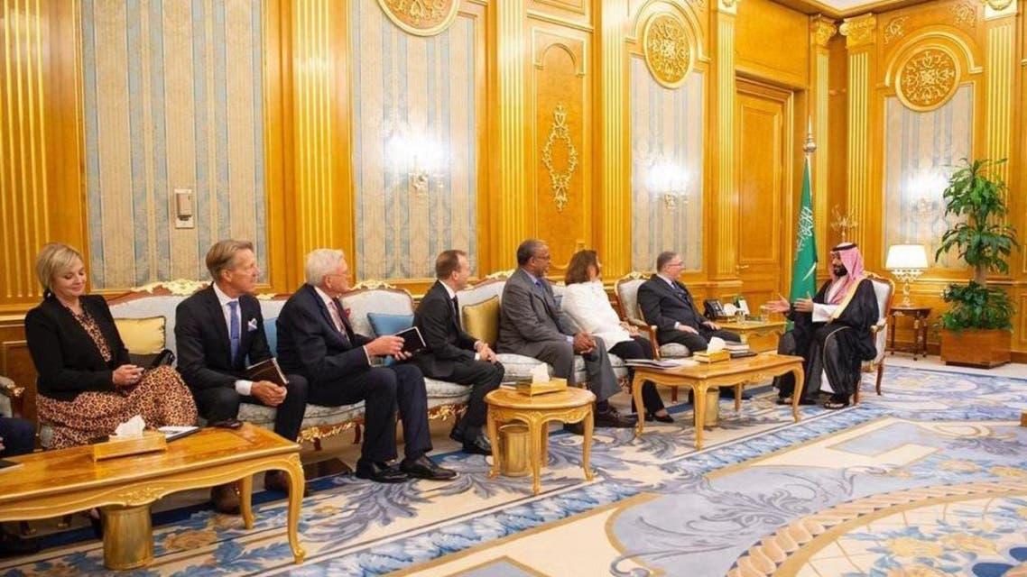 Evangelical Christian delegation visits Saudi Arabia on eve of 9/11. (Supplied)