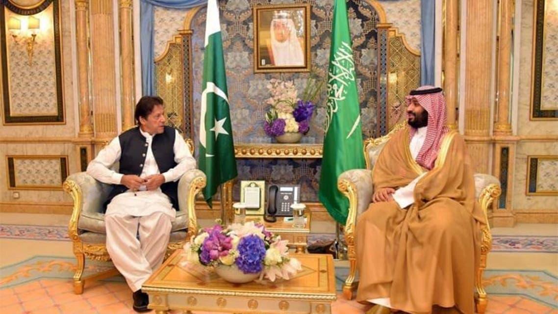 Imran Khan and Saudi Crown Prince Meeting