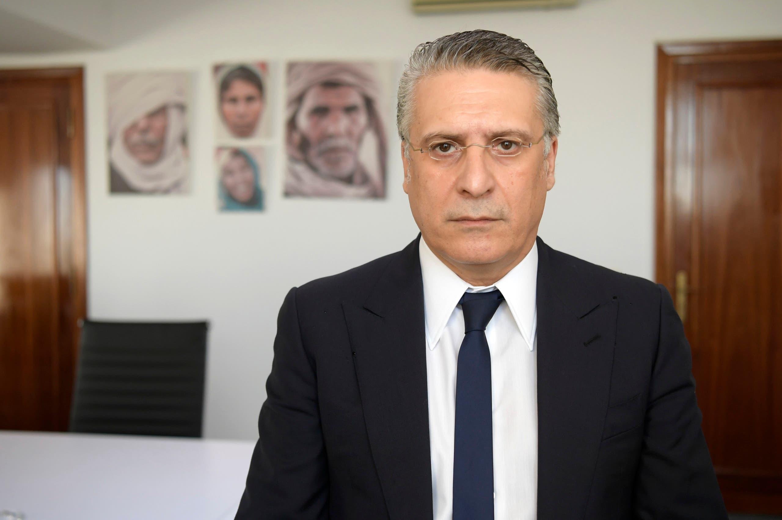 رئيس حزب قلب تونس نبيل القروي (أرشيفية)