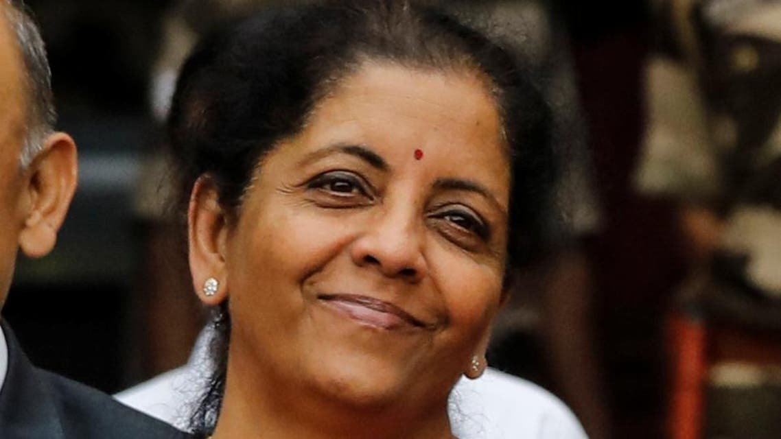 India Finance Minister Nirmala Sitharaman - Reuters