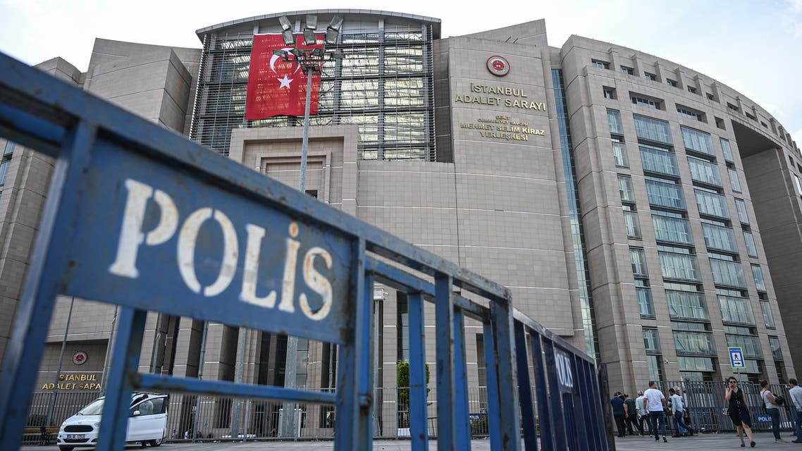 Istanbul courthouse Turkey prison police - AFP