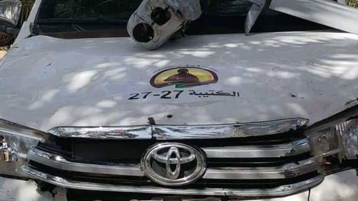 الجيش الليبي يسقط طائرة تجسس تركية
