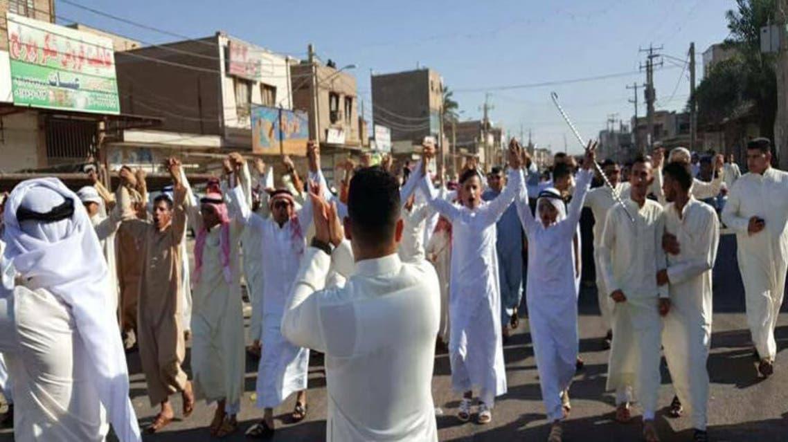 مظاهرات سابقة في الاهواز