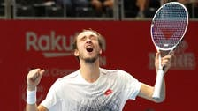 Red-hot Medvedev sets up Coric clash in St Petersburg final