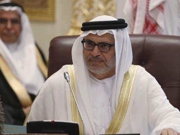 قرقاش: تنفيذ اتفاق الرياض في اليمن يعيد الأمل بالسلام