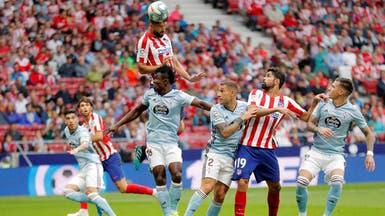 أتلتيكو مدريد يواصل التعثر ويتعادل سلبياً مع سلتا فيغو