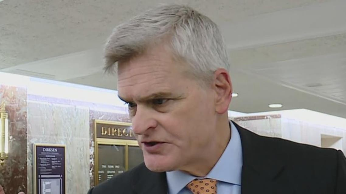 senator bill cassidy. (Screen grab)