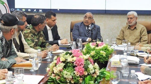 بعد انحياز عبدالمهدي للفياض .. هيكلة الحشد تقصي المهندس
