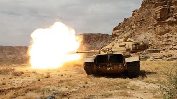 فيديو.. تدمير مرابض مدفعية حوثية في الحديدة