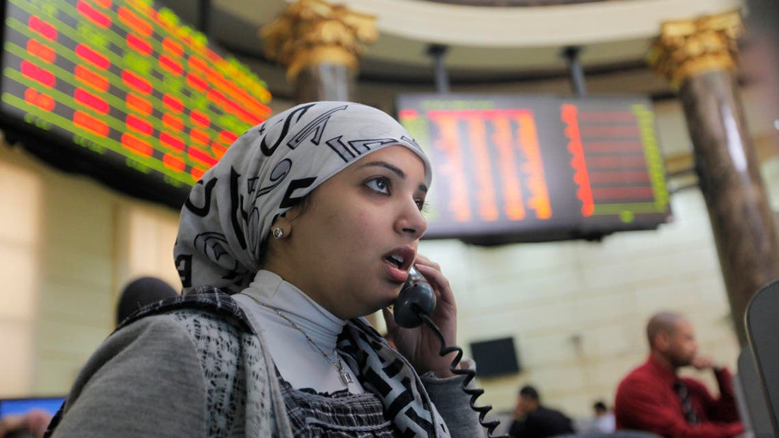 Egypt stocks AP