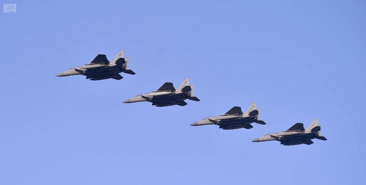 """من الاستعراضات الجوية (تصوير """"واس)"""