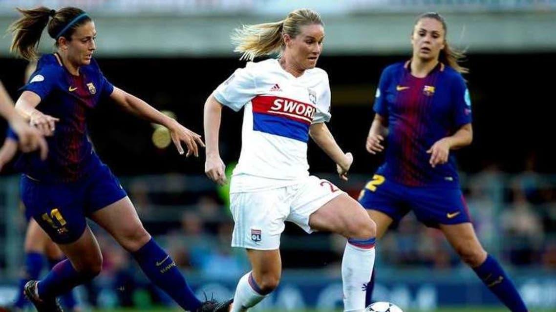 ليون برشلونة نساء