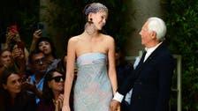 Giorgio Armani pays tribute to nature at Milan Fashion Week show