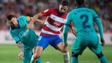 Granada stun Barca to go top of La Liga