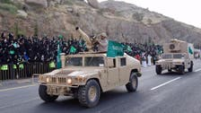 قومی دن پر سعودی عرب کے 2000 محافظوں کی عسیر میں شاندار پریڈ