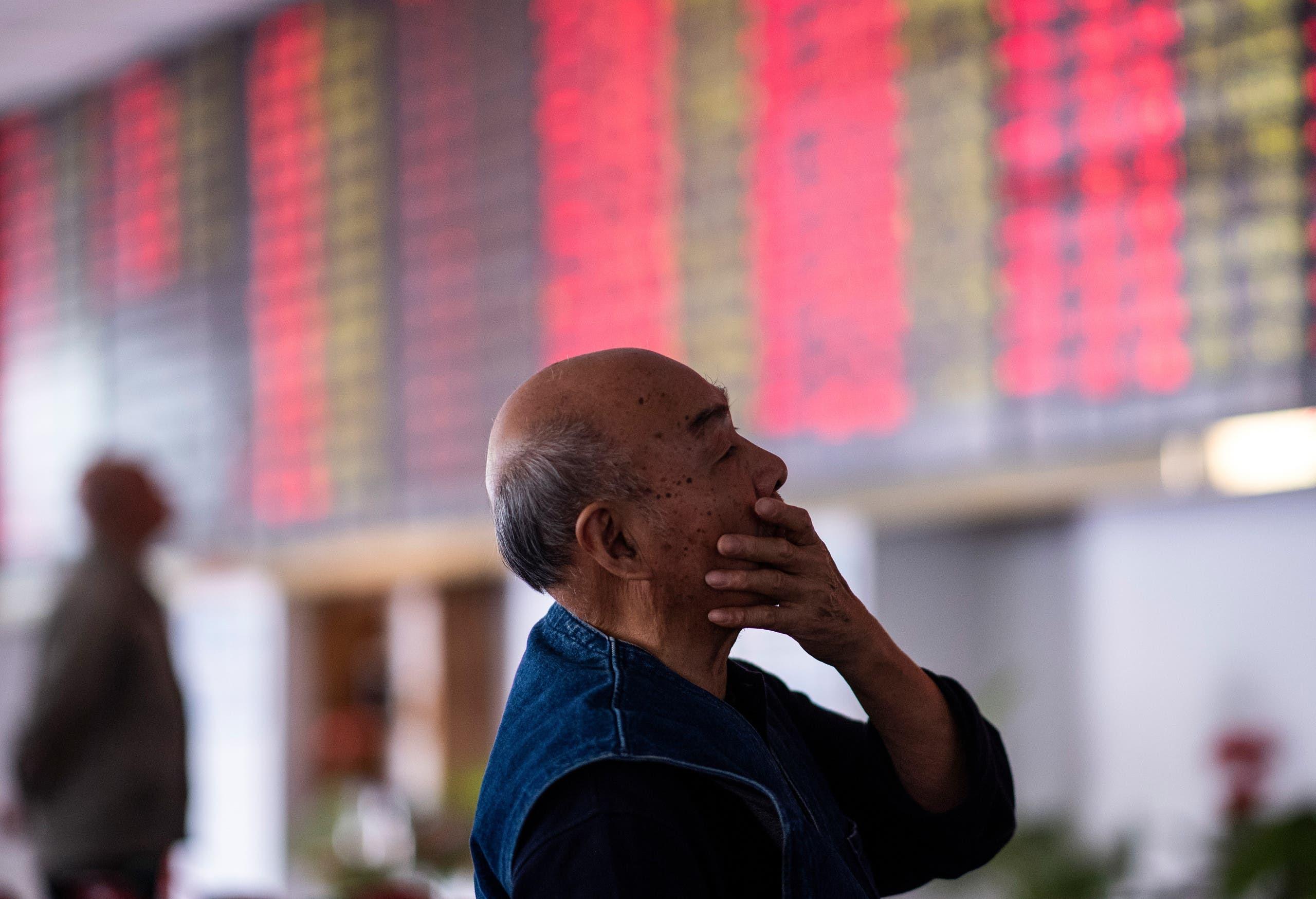 Emerging markets China stocks. (AFP)