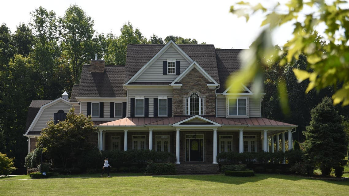 Photo shot September 10, 2019 shows the house in Stafford, Virginia, of alleged spy, Oleg Smolenkov. afp