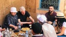 بل اور ہیلری کلنٹن نے مراکش میں روایتی ناشتے کا لطف اٹھایا