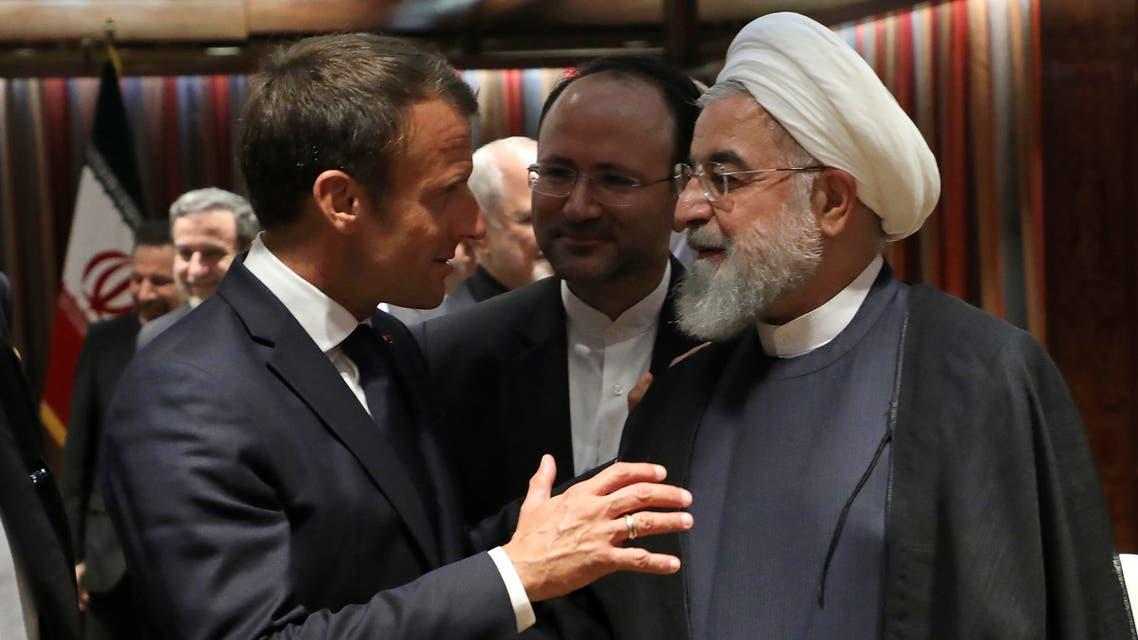 روحاني - ماكرون - إيران - فرنسا