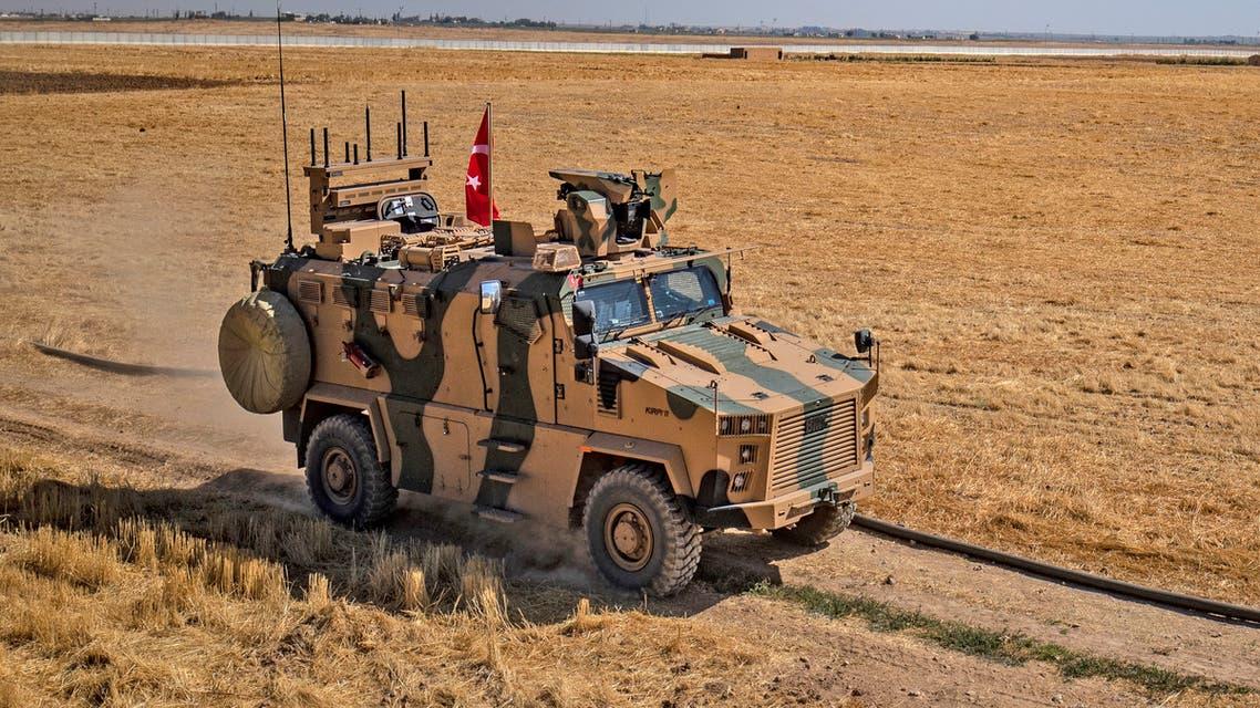 دوريات مشتركة أميركية تركية على الحدود مع سوريا