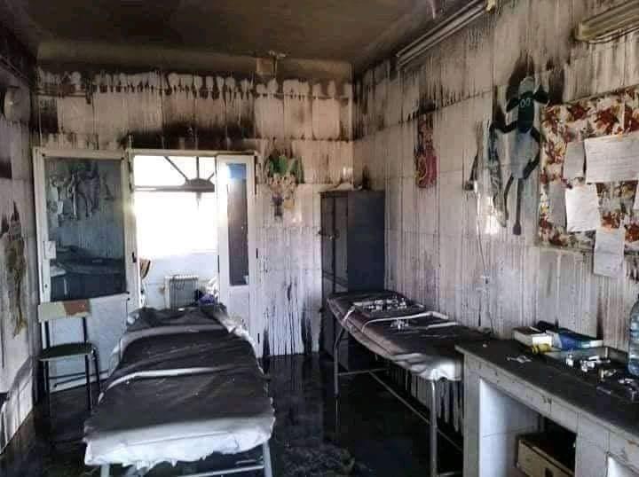 من داخل المستشفى  (المصدر: الحساب الرسمي لراديو الجزائر بتويتر)