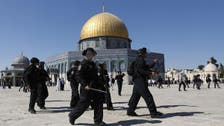 Hundreds of Jewish settlers storm al-Aqsa Mosque in Jerusalem