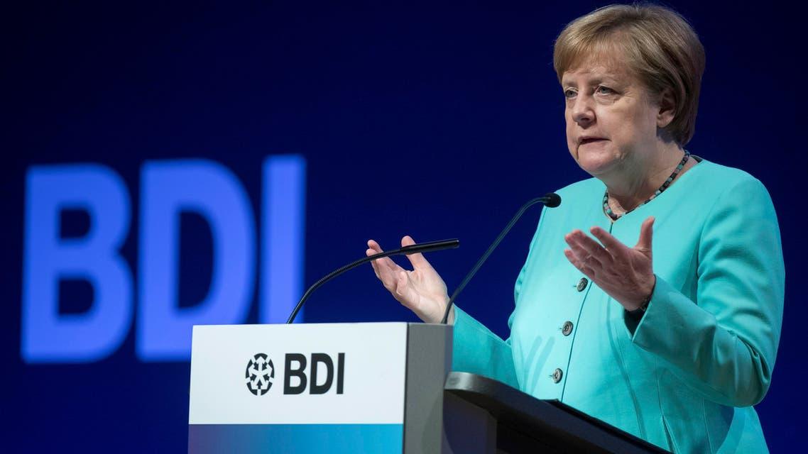 Merkel BDI (AP)