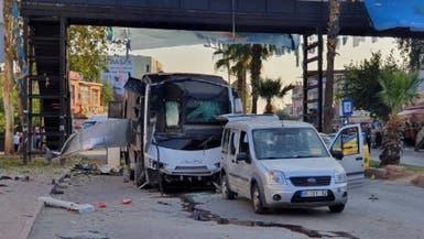 هجوم على حافلة شرطة جنوب تركيا.. وإصابة 5