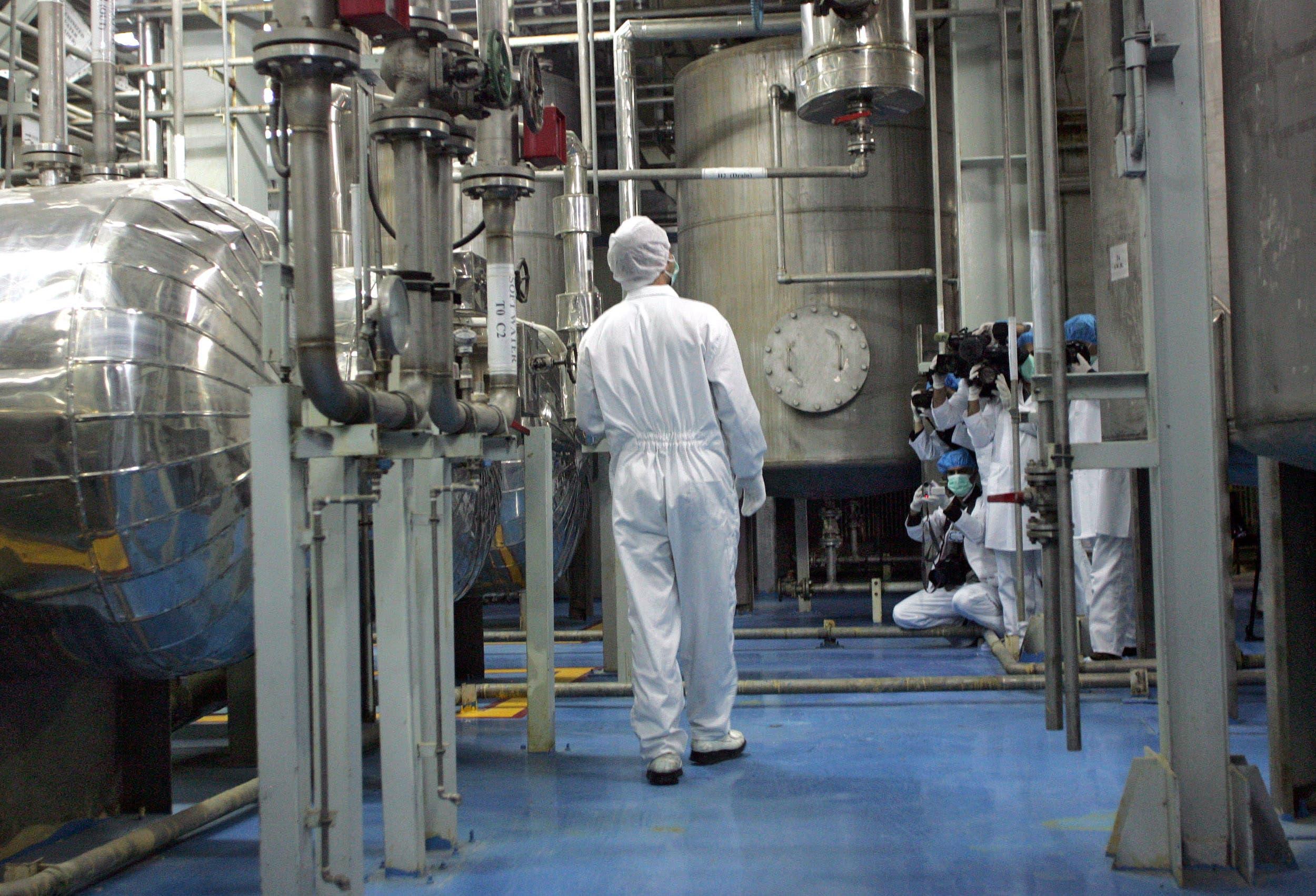 محطة تخصيب يورانيوم في طهران (أرشيفية)