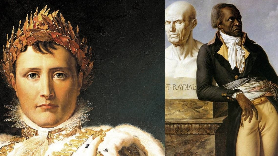صورة تعبيرية تجمع بين نابليون بونابرت وجان باتيست بيلي