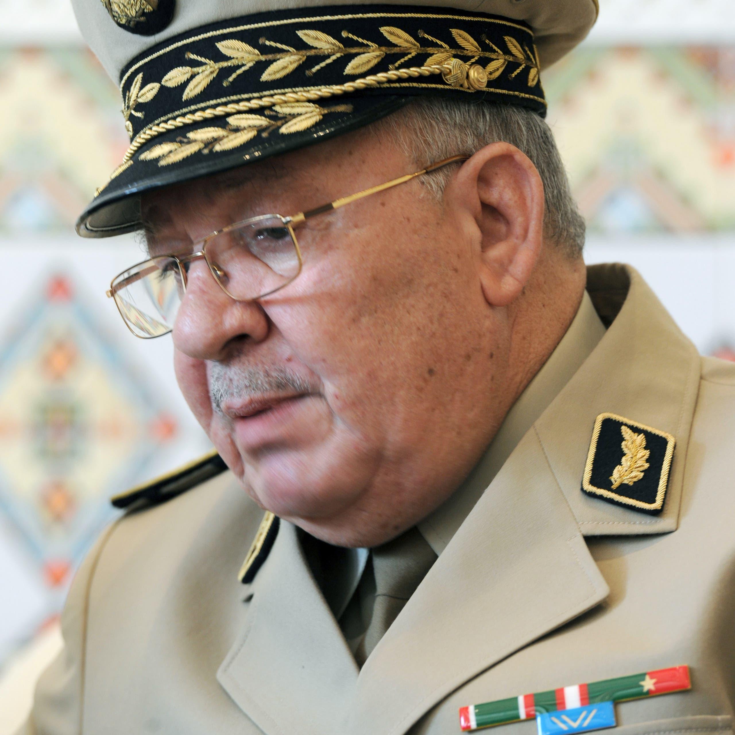 رئيس أركان الجيش الجزائري: لا طموحات سياسية لدينا
