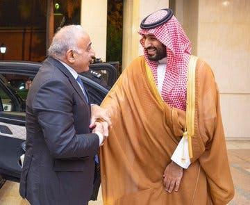 الأمير محمد بن سلمان يستقبل رئيس الوزراء العراقي(واس)